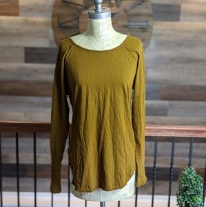 Project Social T Mustard Long Sleeve Tee